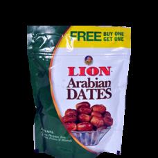 LION ARABIAN SEEDED DATES 500GM