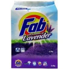 FAB LAVENDER DETERGENT POWDER 2.3KG