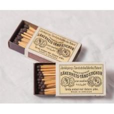 SAKERHETS MATCH BOX 10PCS