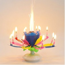 BIRTHDAY CANDLES&HOLDERS 1PCS