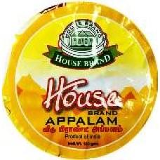 HOUSE BRAND APPALAM 60GM